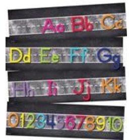 Twinkle Twinkle You're A Star! Alphabet Line: Manuscript Mini Bulletin Board