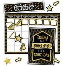 Sparkle & Shine Calendar Bulletin Board
