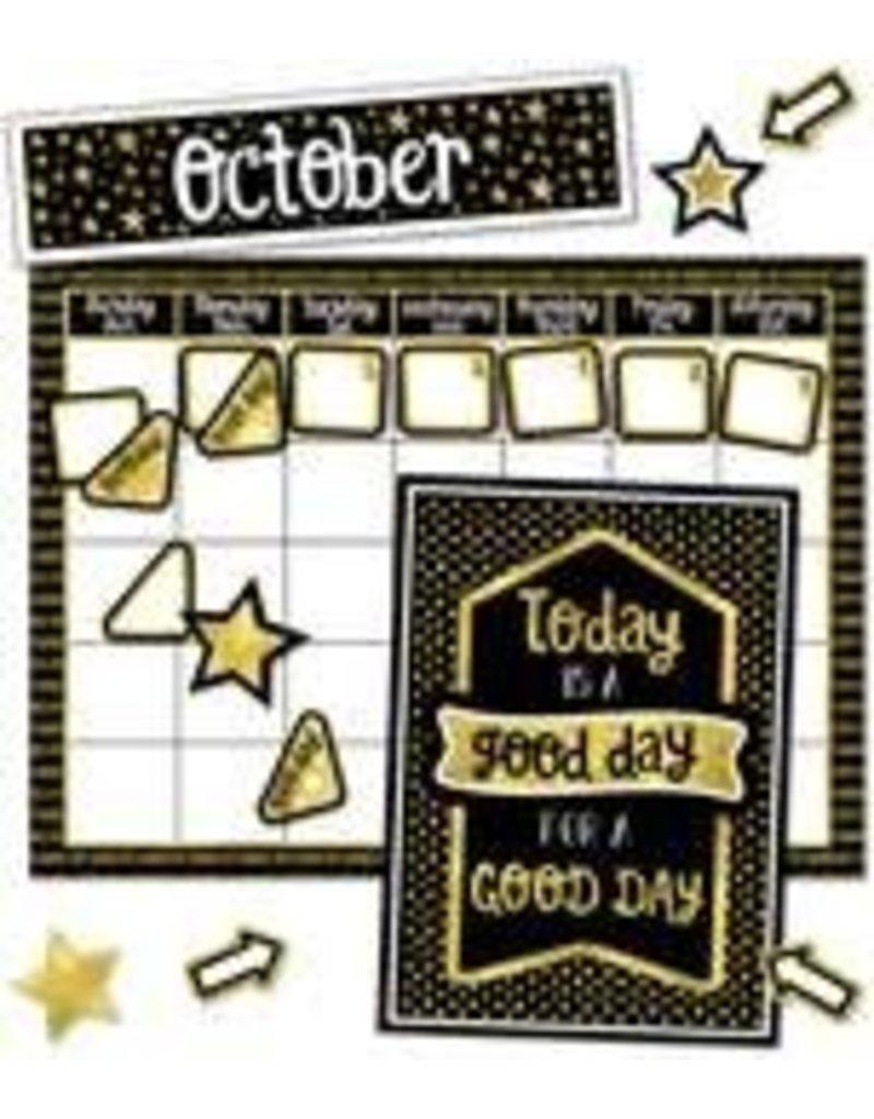 Sparkle & Shine Calendar Bulletin Board