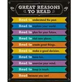 Great Reasons to Read Chart