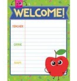 School Tools Welcome Chart