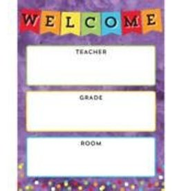 Celebrate Learning: Welcome Chart