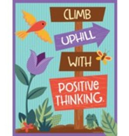 *Nature Explorers: Climb Uphill With Positive Thinking Chart