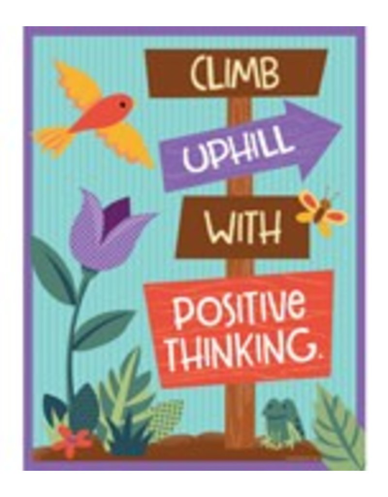 Nature Explorers: Climb Uphill With Positive Thinking Chart