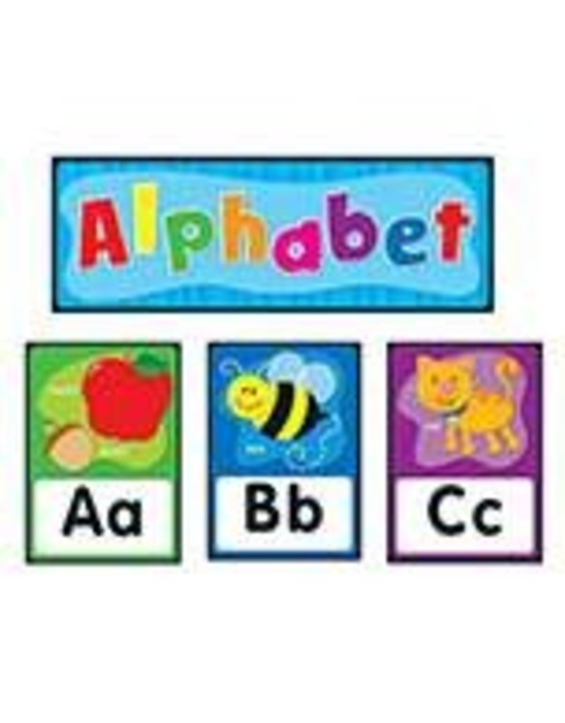 Alphabet Quick Stick® Bulletin Board Set