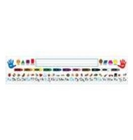 *Traditional Manuscript PK–K Quick Stick® Desk Nameplates