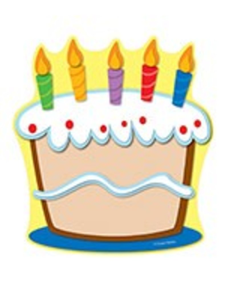 Cake Colorful CutOuts®