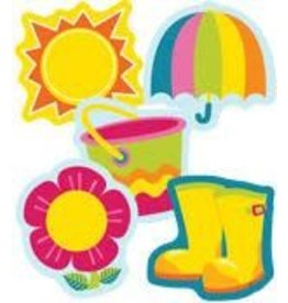 Spring Mix Colorful CutOuts®  Mini Assorted