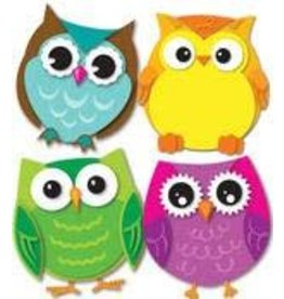 Colorful Owls Colorful CutOuts®  Mini Assorted