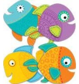 Fish Colorful CutOuts®  Mini Assorted