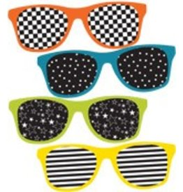 School Pop Sunglasses Colorful CutOuts®  Mini Assorted