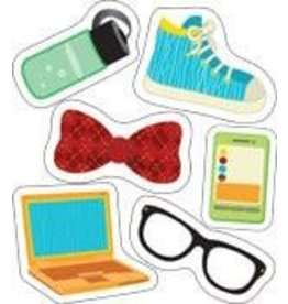 Hipster Gear Colorful CutOuts®  Mini Assorted