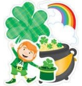 St Patrick's Day Colorful Cut-Outs Assorted