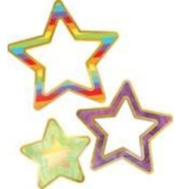 Rainbow & Foil Stars Accents