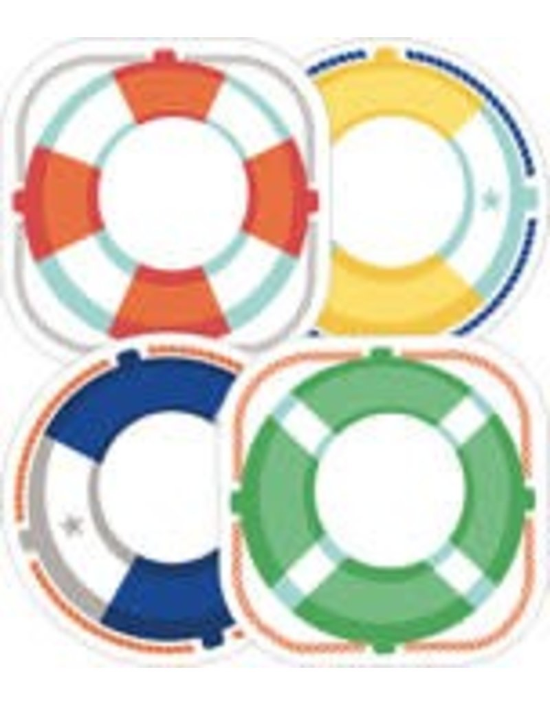 S.S. Discover Life Preservers CutOuts Assorted