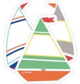 S.S. Discover Sailboats Mini CutOuts Assorted