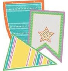 Up and Away Pennants CutOuts Assorted