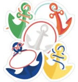 S.S. Discover Anchors Mini CutOuts Assorted