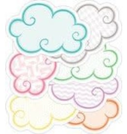 Up and Away Clouds Mini CutOuts Assorted