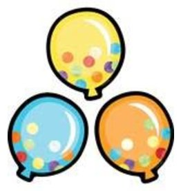 *Celebrate Learning Balloons Colorul Cut-Outs Assorted