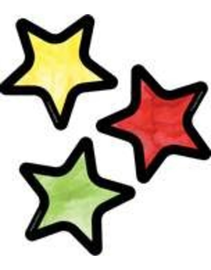 Celebrate Learning Stars Mini Colorful Cut-Outs Assorted