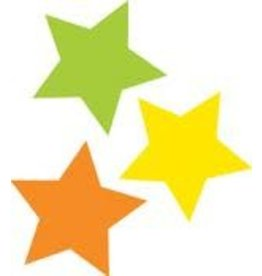 Twinkle Twinkle You're A Star! Color Stars Mini Colorful Cut-Outs