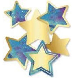 Galaxy Stars Colorful Cut-Outs Assorted Designs