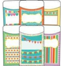 Up and Away Library Pockets Regular Assorted