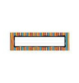 Colorful Stripes Desk Nameplates