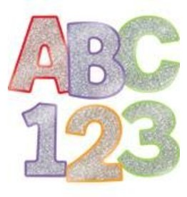 "4"" EZ Letters Colorful Glitter Combo Pack"