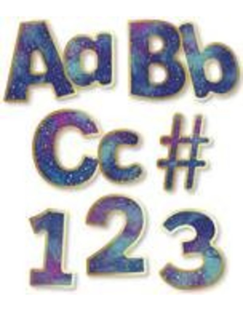 """Galaxy Combo Pack 4"""" EZ Letters"""