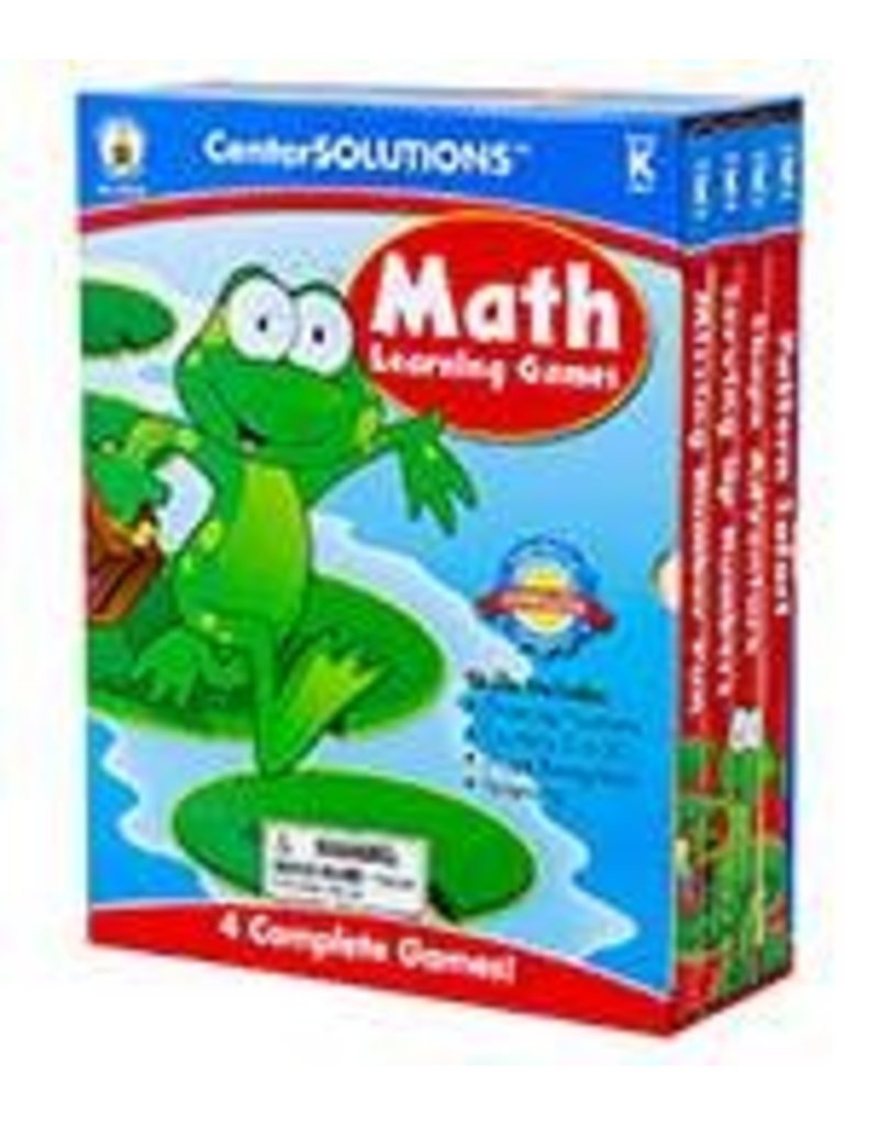 CenterSOLUTIONS®: Math Learning Games (K)