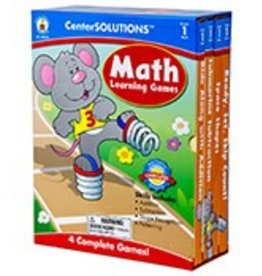 CenterSOLUTIONS®: Math Learning Games (1)