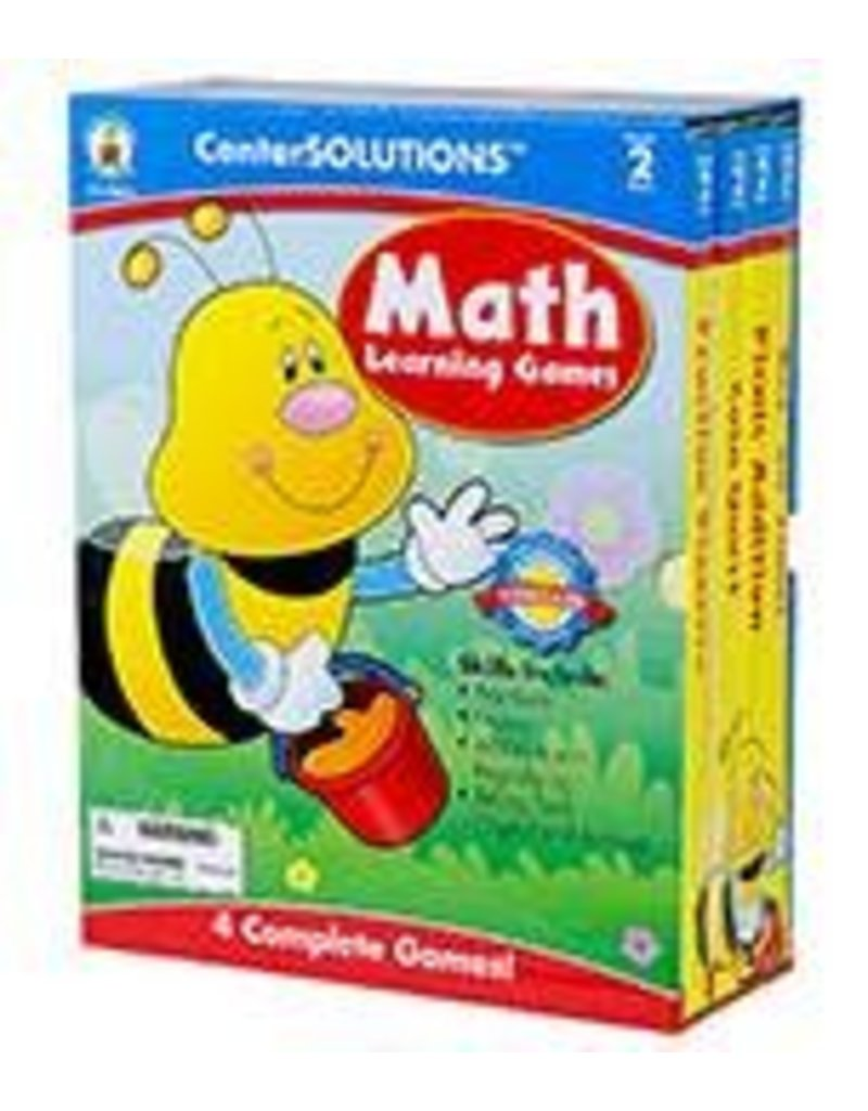 CenterSOLUTIONS®: Math Learning Games (2)
