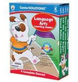 CenterSOLUTIONS®: Language Arts Learning Games (K)