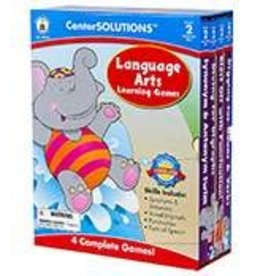 *CenterSOLUTIONS®: Language Arts Learning Games (2)