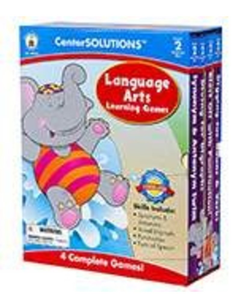 CenterSOLUTIONS®: Language Arts Learning Games (2)