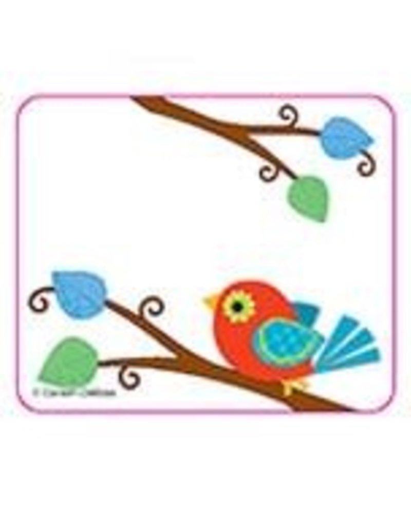 Boho Birds Name Tags