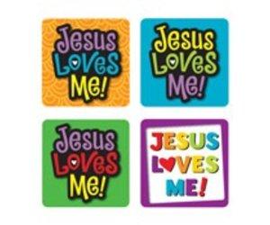 Jesus Loves Me! Scripture Stickers