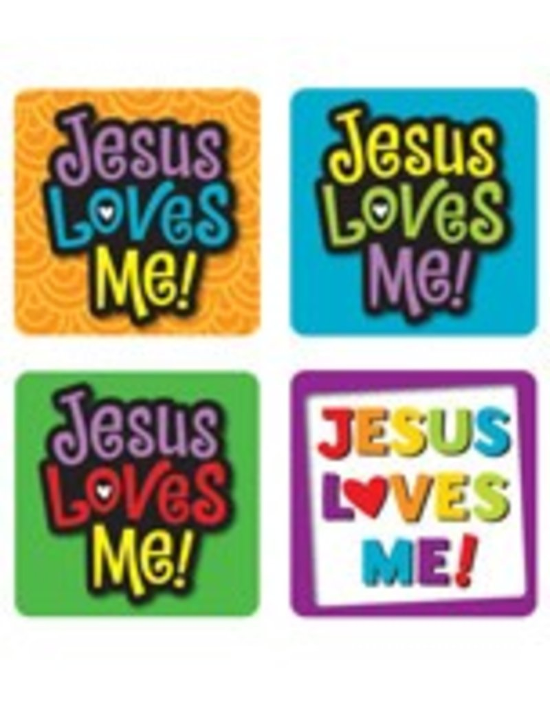 Jesus Loves Me! Scripture Stickers