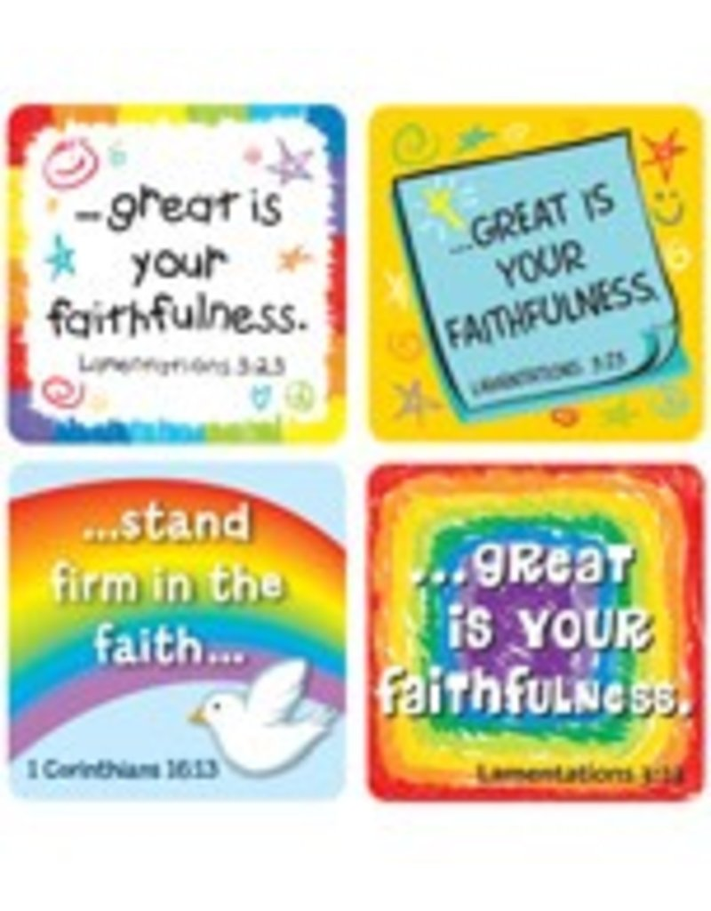 Faith Verses Scripture Stickers