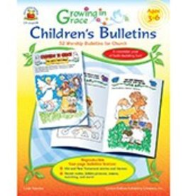 Growing in Grace Children's Bulletins (Ages 3–6) Book