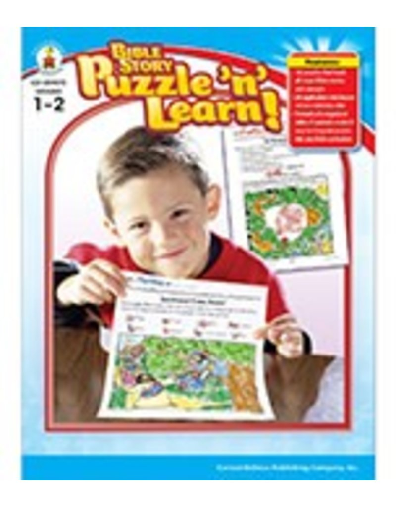 Bible Story Puzzle 'n' Learn! (1–2) Book