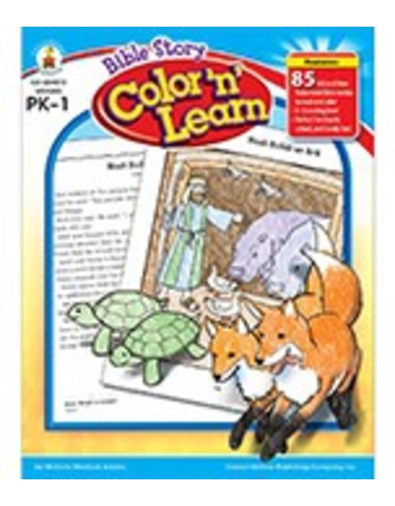 Bible Story Color 'n' Learn! (PK–1) Book