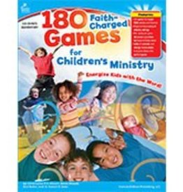 180 FaithCharged Games for Children's Ministry (Elementary) Book