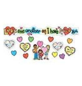 Love One Another: KidDrawn Mini Bulletin Board Set