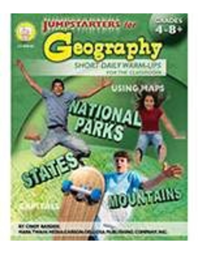 Jumpstarters for Geography (4–8+) Book