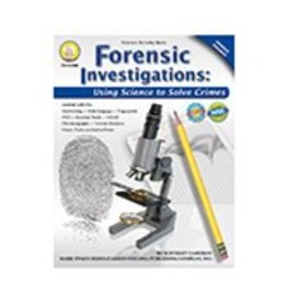 Forensic Investigations Middle Grades Book