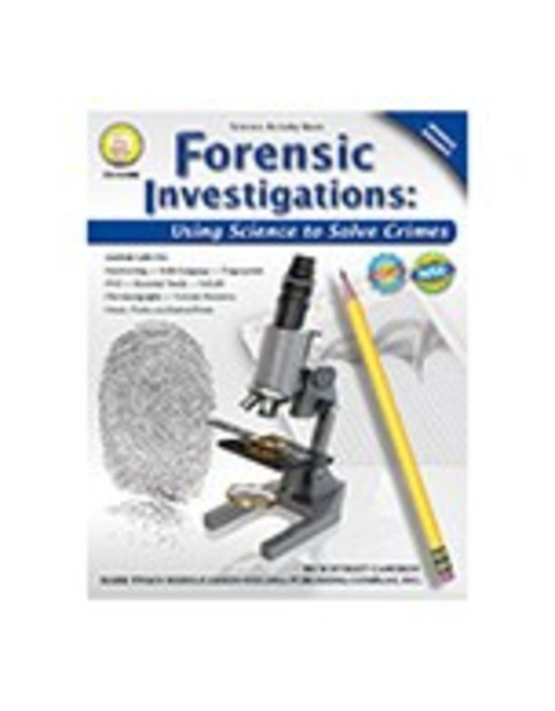 Forensic Investigations Middle Grades Book Tools 4 Teaching