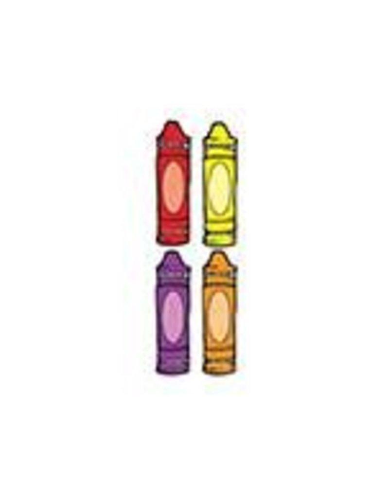 Crayons Colorful CutOuts®